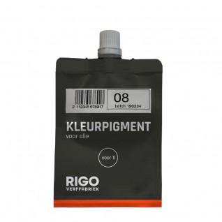 Royl Kleurpigment Olie 08 Mystic Black voor 1L #0108