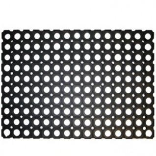 VOS buitenmat, zwarte rubberring deurmat, 40 x 60cm