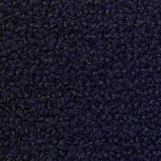 Deurmat Porte diepblauw 130 cm breed (schoonloop)
