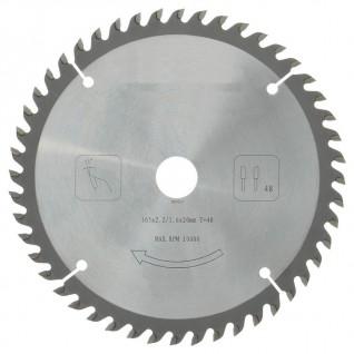 Zaagblad PROF 165 x 20 mm T48 (hout)