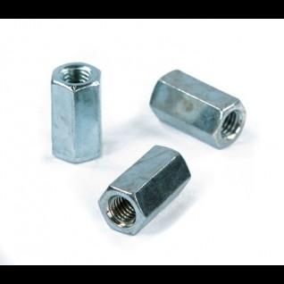 Koppelmoer zeskant Din 6334 6 Galv. Verzinkt M16 - 50