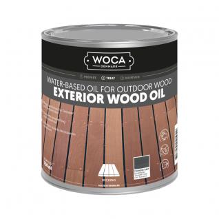 WOCA Exterior Oil Thunder Grey 0,75 L