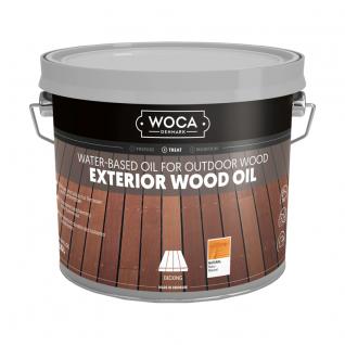 Woca Exterior Oil naturel (buitenhout olie) 2.5 L
