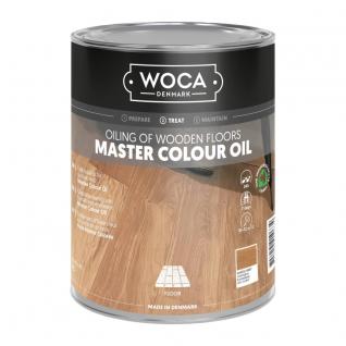 WOCA Master Colour Oil 114 castle grey 1 L
