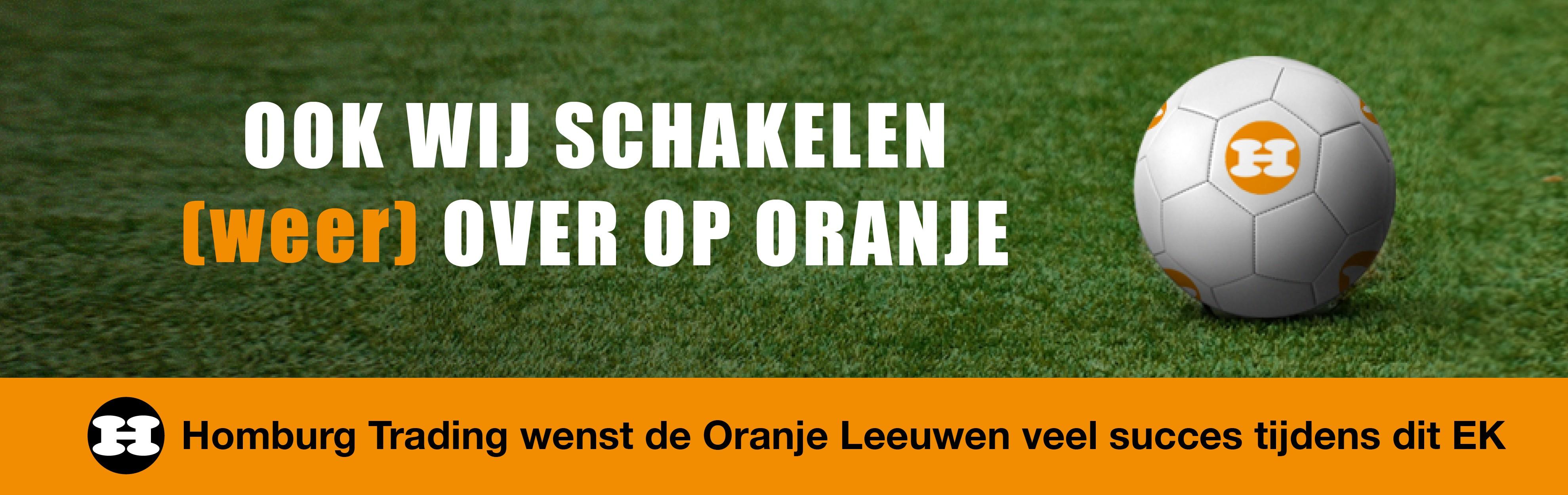 Ook Homburg schakelt tijdens het EK weer op oranje